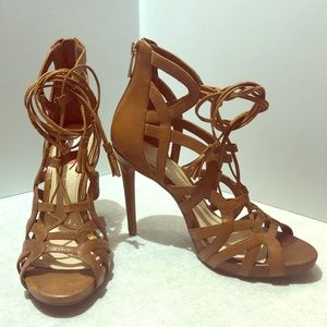 NWT Jessica Simpson Strappy Cage Sandal